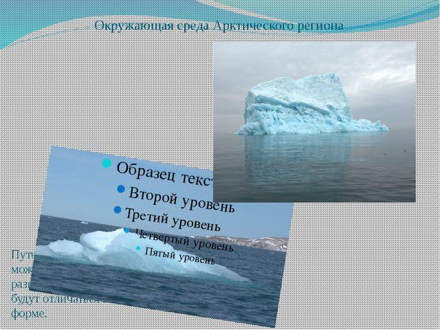 Окружающая среда Арктического региона Что нас окружает?? Путешествуя в этом р...
