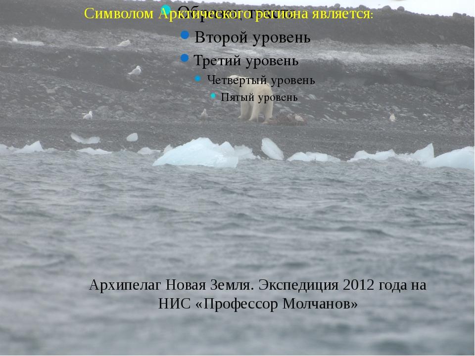 Символом Арктического региона является: Архипелаг Новая Земля. Экспедиция 20...
