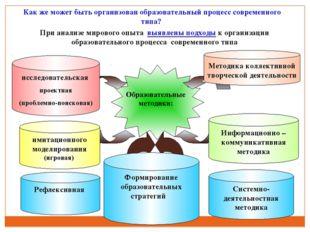 Рефлексивная При анализе мирового опыта выявлены подходы к организации образо
