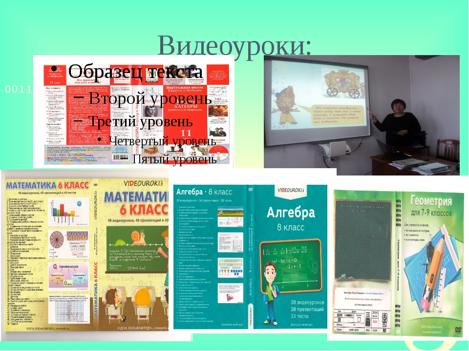 Видеоуроки: