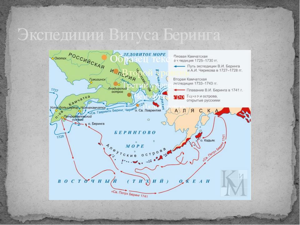 Экспедиции Витуса Беринга