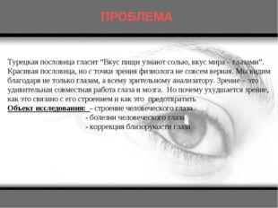 """Турецкая пословица гласит """"Вкус пищи узнают солью, вкус мира – глазами"""". Крас"""
