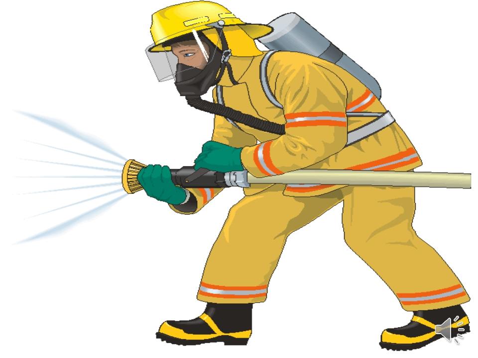 Рисованные картинки пожарник