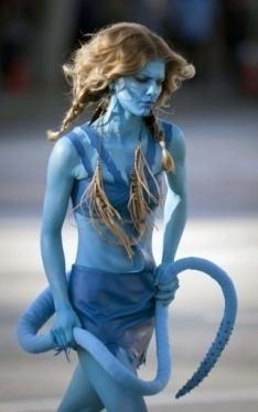 AnnaLynne McCord in Avatar Look Fashion CraZ
