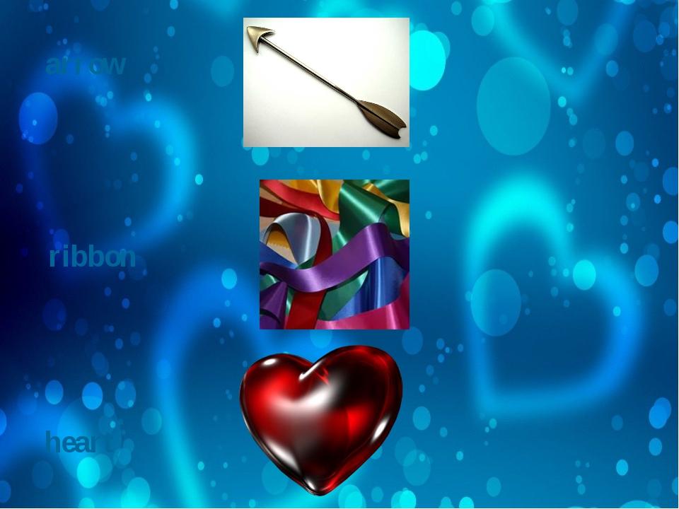 arrow ribbon heart