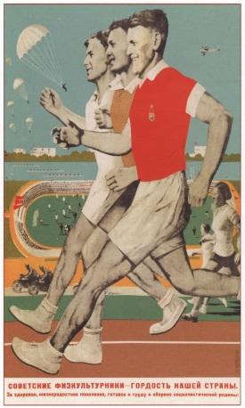 1935 г. Корецкий В. Советский физкультурники - гордость нашей страны....jpg