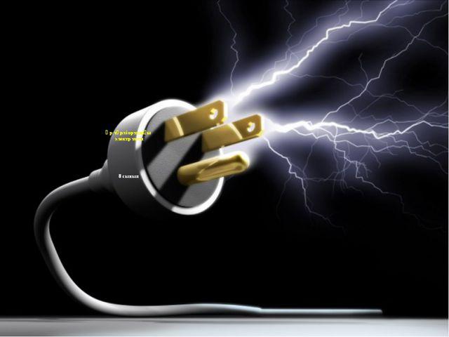 Әр түрлі ортадағы электр тогы 8 сынып