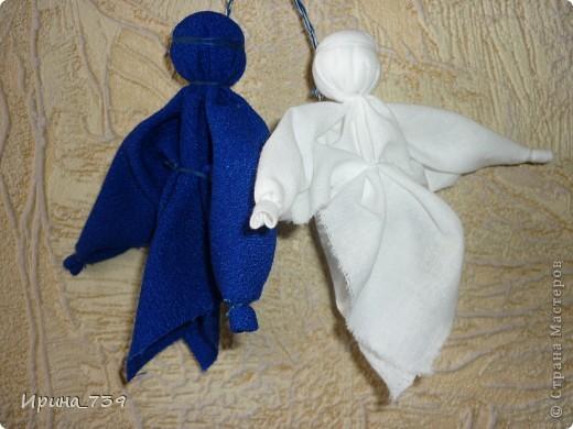 Куклы Поделка изделие Шитьё Народная кукла Бусинки Кружево Нитки Пряжа Ткань фото 6