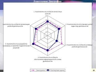 Лепестковая Диаграмма 48