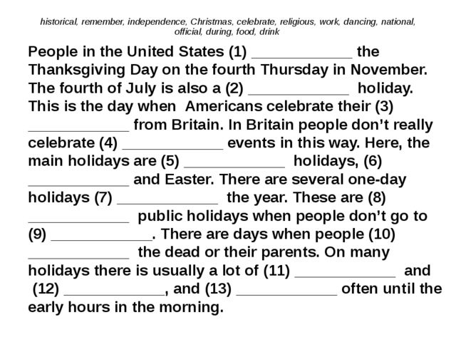 historical, remember, independence, Christmas, celebrate, religious, work, da...