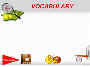 VOCABULARY Vocabulary Exercise