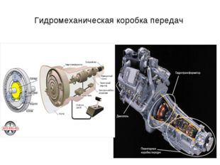 Гидромеханическая коробка передач