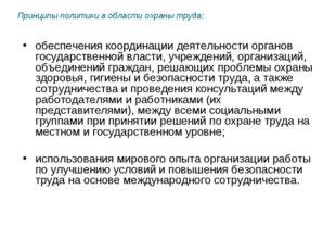 обеспечения координации деятельности органов государственной власти, учрежден