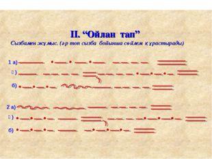 """Буынның неше түрі бар. 1 а) ә) б) 2 а) ә) б) ІІ. """"Ойлан тап"""" Сызбамен жұмыс."""