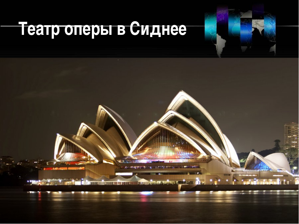 Театр оперы в Сиднее
