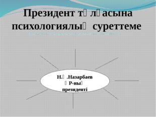 Президент тұлғасына психологиялық суреттеме Еңселі,келбетті, кең маңдайлы,тік
