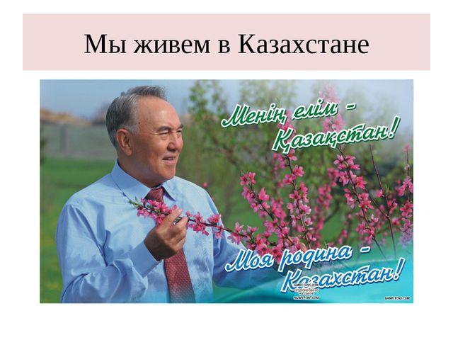 Мы живем в Казахстане