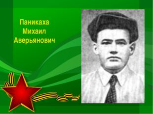 Паникаха Михаил Аверьянович