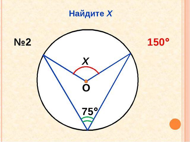 Найдите Х Х 75 №2 150 О