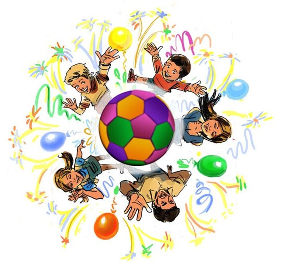 Рисунок на спортивный праздник