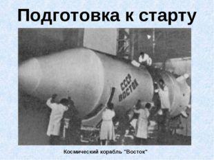 """Подготовка к старту Космический корабль """"Восток"""""""
