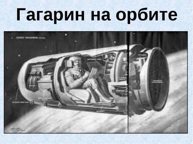 Гагарин на орбите