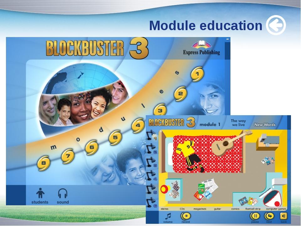 Module education www.themegallery.com www.themegallery.com