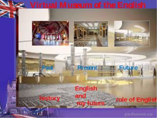 Virtual Museum of the English Language Past Present Future history role of En