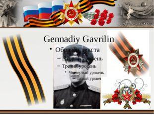 Gennadiy Gavrilin