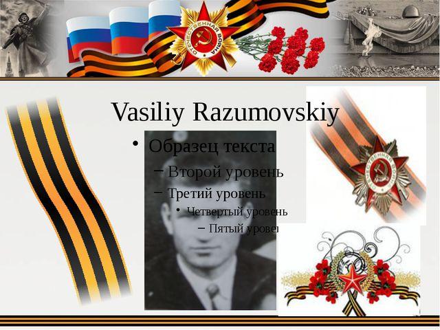 Vasiliy Razumovskiy