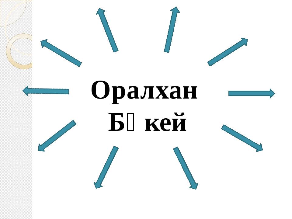 Оралхан Бөкей