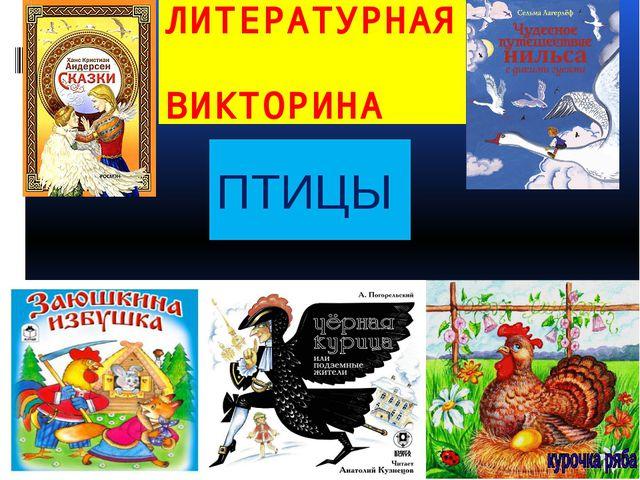 ЛИТЕРАТУРНАЯ ВИКТОРИНА ПТИЦЫ XTreme.ws: