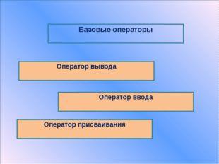 Оператор вывода команда Результатна экране Write('текст') текст Х=3 Write(X)