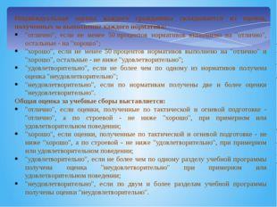 Индивидуальная оценка каждого гражданина складывается из оценок, полученных з