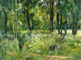 Лесная поляна