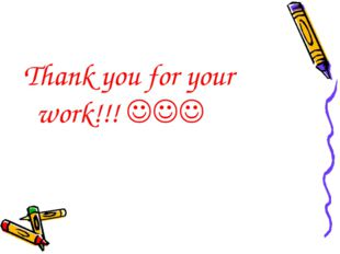 Thank you for your work!!! 