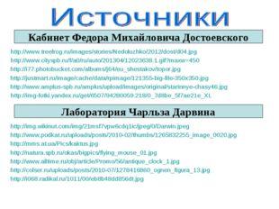 Кабинет Федора Михайловича Достоевского http://www.treefrog.ru/images/stories