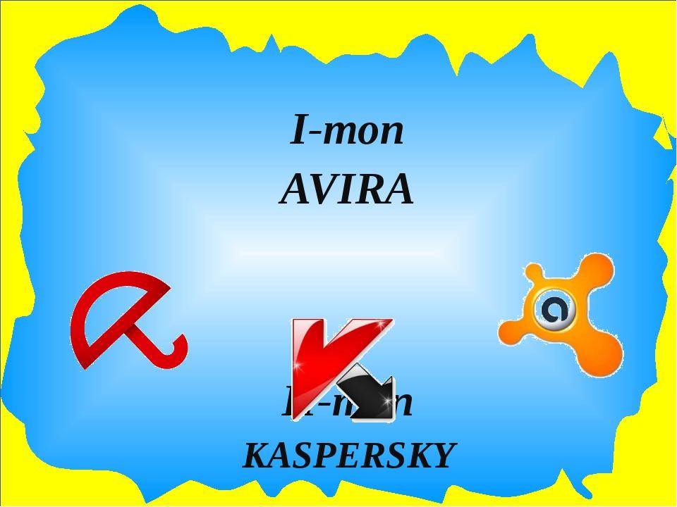 І-топ AVIRA ІІ-топ KASPERSKY ІІІ-топ AVAST