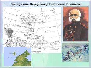 Экспедиция Фердинанда Петровича Врангеля