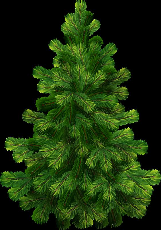 Новогодняя елка в векторе Xmas tree - Stock Vector