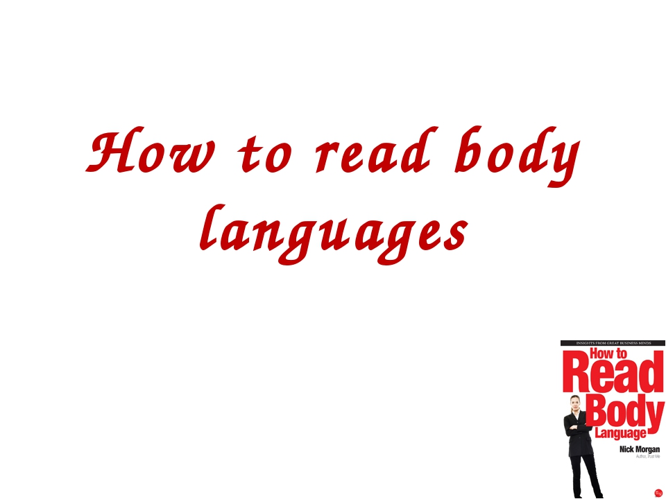 How to read body languages
