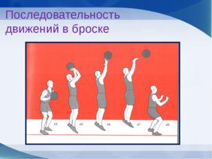 Переместить мяч перед лицом до его выпуска; Игрок должен держать туловище ве