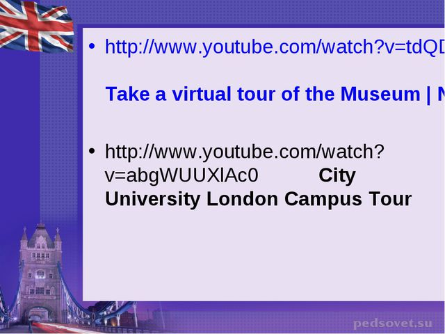http://www.youtube.com/watch?v=tdQDm4gdSOc Take a virtual tour of the Museum...
