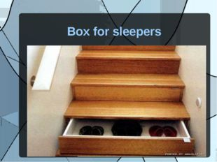 Box for sleepers