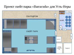 10 м. 10 м. 2 м Проект скейт парка «Barracuda» для Усть-Неры СКЛАД ИНВЕНТАРЯ