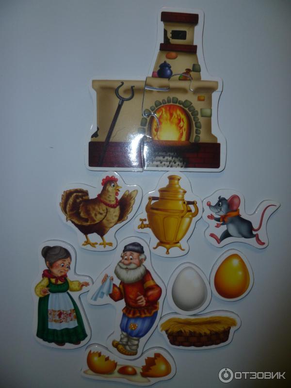 Магнитный театр Vladi Toys Курочка Ряба фото