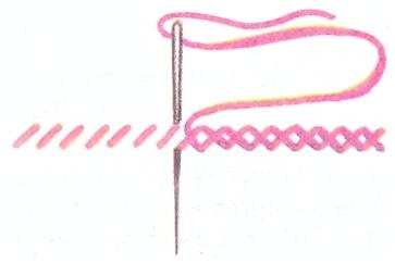 Реклама в проекте по вышивке
