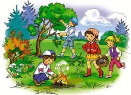 E:\ПЕЧАТАТЬ к уроку\дети в лесу.jpg