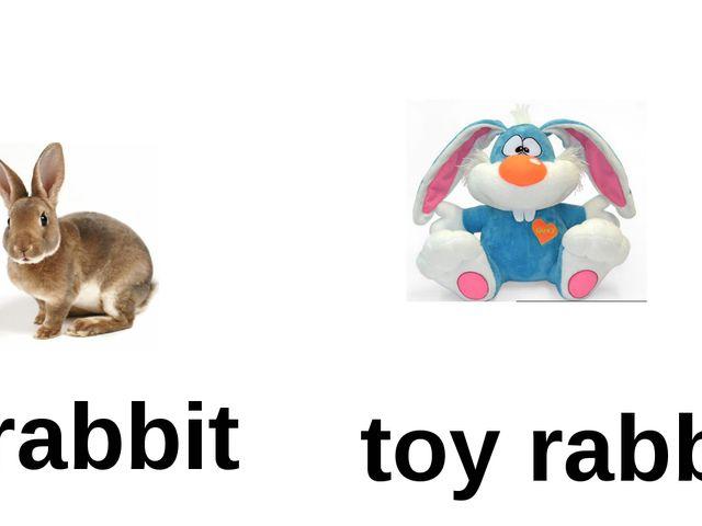 toy rabbit rabbit