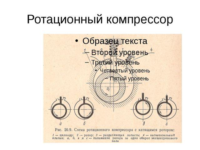 Ротационный компрессор